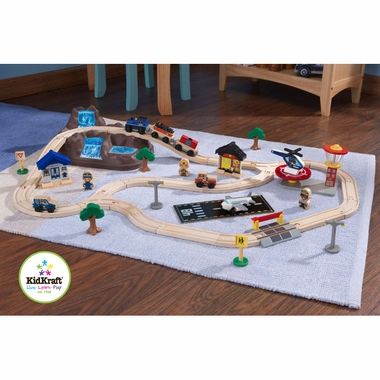 Bucket Top Mountain Train Set by KidKraft