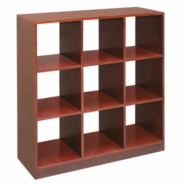 Cherry 3 x 3 Storage Unit by Badger Basket - Click to enlarge