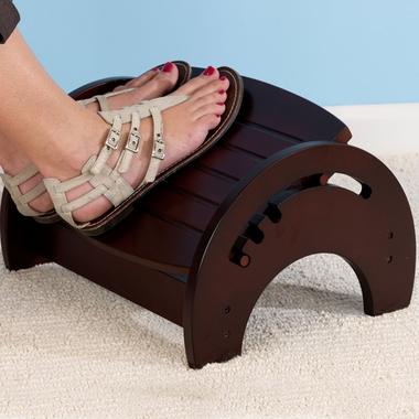 Cherry Adjustable Nursing Stool by KidKraft - Click to enlarge