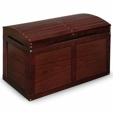 Cherry Barrel Top Toy Chest by Badger Basket - Click to enlarge
