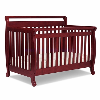 Cherry Emily 4 in 1 Convertible Crib by DaVinci - Click to enlarge