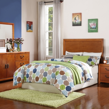 Cherry Finley Full Bed in a Box by Powell Furniture