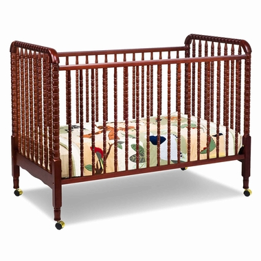 Cherry Jenny Lind 3 in 1 Convertible Crib by DaVinci - Click to enlarge