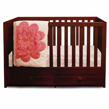 Cherry Marilyn 3-in-1 Convertible Crib by AFG - Click to enlarge