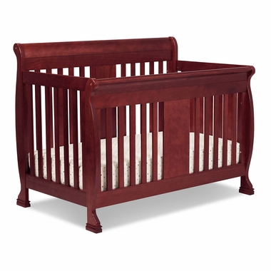 Cherry Porter 4 in 1 Convertible Crib by DaVinci - Click to enlarge