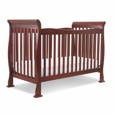Cherry Reagan 4 in 1 Convertible Crib by DaVinci - Click to enlarge