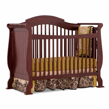 Cherry Valentia Fixed Side Convertible Crib by Storkcraft - Click to enlarge