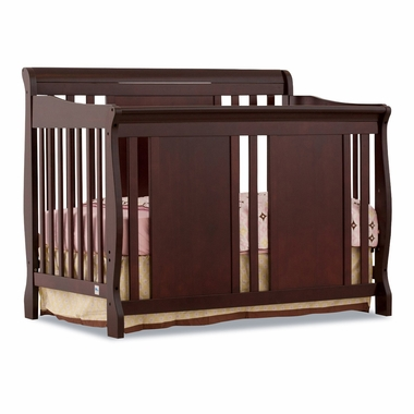 Cherry Verona 4 in 1 Convertible Crib by Storkcraft - Click to enlarge