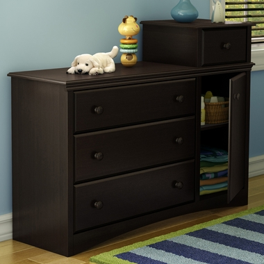 Chocolate Angel Combo Storage Unit by SouthShore