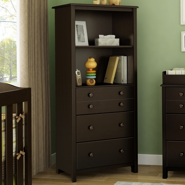 Chocolate Little Smiley Chest by SouthShore