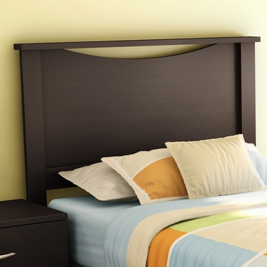 Chocolate Step One Twin Headboard by SouthShore - Click to enlarge
