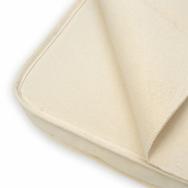 Cradle Flat Waterproof Organic Cotton Protector Pad by Naturepedic