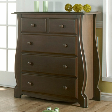 Earth Bergamo 4-Drawer Dresser by Pali - Click to enlarge