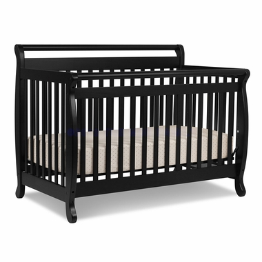 Ebony Emily 4 in 1 Convertible Crib by DaVinci - Click to enlarge