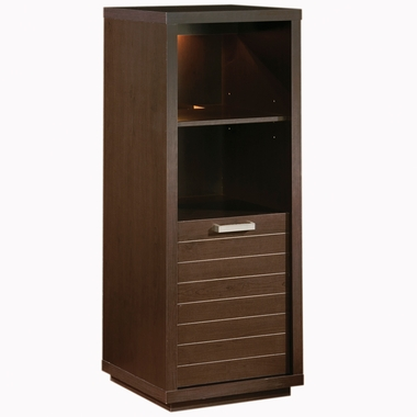 Endless Chocolate Skyline Shelf Bookcase by SouthShore
