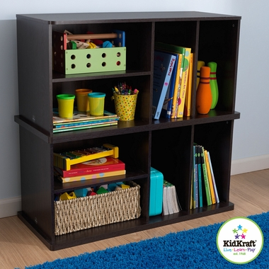 Espresso Add On Storage Unit by KidKraft - Click to enlarge