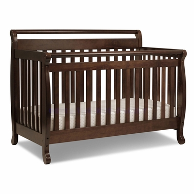 Espresso Emily 4 in 1 Convertible Crib by DaVinci - Click to enlarge