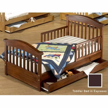 Espresso Grande Toddler Bed with Underbed Drawer by Sorelle - Click to enlarge