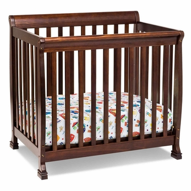 Espresso Kalani Mini Crib by DaVinci - Click to enlarge