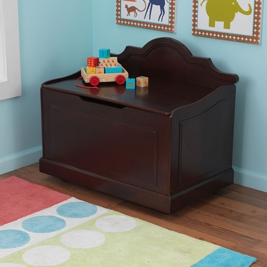 Espresso Raleigh Contemporary Toy Box by KidKraft - Click to enlarge