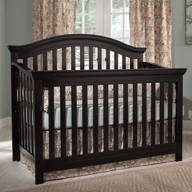 Espresso Rhapsody Lifetime Crib by Munire