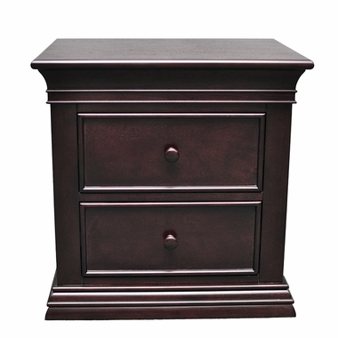 Espresso Sorelle Verona Nightstand by Sorelle - Click to enlarge