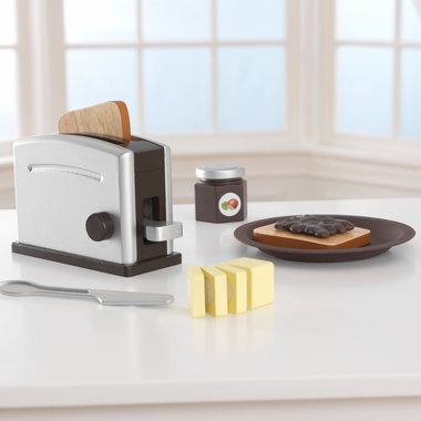 Kidkraft Toaster Set in Espresso - Click to enlarge