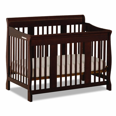 Espresso Tuscany 4 in 1 Convertible Crib by Storkcraft - Click to enlarge