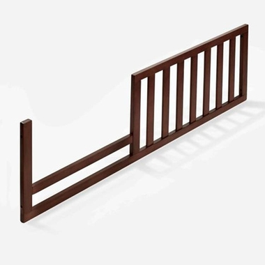 Espresso Tuscany Crib Mini Siderail Toddler Conversion Kit by Sorelle - Click to enlarge
