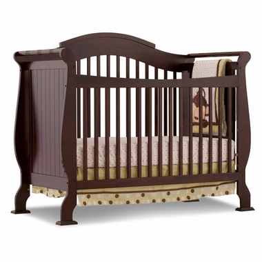 Merveilleux Espresso Valentia Fixed Side Convertible Crib By Storkcraft   Click To  Enlarge