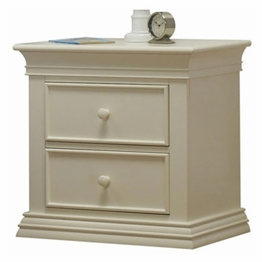 French White Sorelle Verona Nightstand by Sorelle - Click to enlarge
