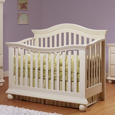 French White Sorelle Vista Couture Crib by Sorelle - Click to enlarge
