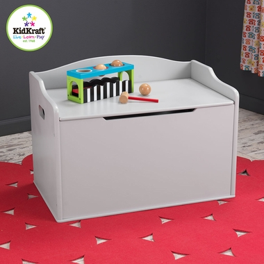Gray Fog Austin Traditional Toy Box by KidKraft - Click to enlarge
