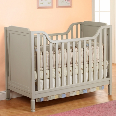 Gray Sorelle Bedford Crib by Sorelle - Click to enlarge