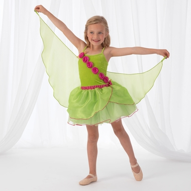 Kidkraft Green Winged Fairy Costume in Large