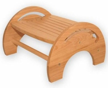 Honey Adjustable Nursing Stool by KidKraft - Click to enlarge