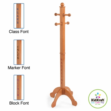 Honey Clothes Pole by KidKraft - Click to enlarge