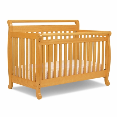 Honey Oak Emily 4 in 1 Convertible Crib by DaVinci - Click to enlarge