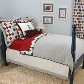 Ivy League Blue Bedding Collection