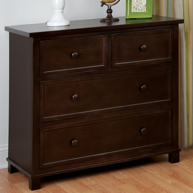Jamocha 3 Drawer Single Dresser by Child Craft - Click to enlarge