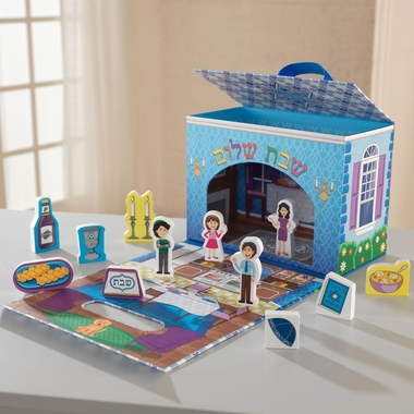 Kidkraft Judaica Travel Box Play Set