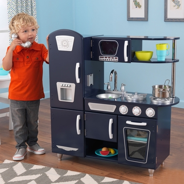 Kidkraft Kitchen in Navy - Click to enlarge
