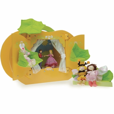 Le Toy Van Pumpkin Theatre Play Environment by Hotaling
