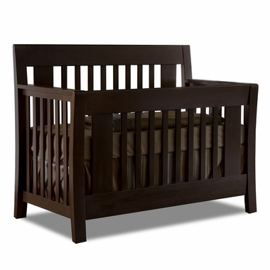 Mocacchino Emilia 4 in 1 Convertible Forever Crib by Pali - Click to enlarge