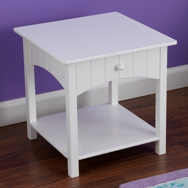Kidkraft Nantucket Toddler Side Table in White