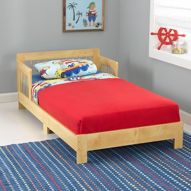Natural Houston Convertible Toddler Bed by KidKraft - Click to enlarge