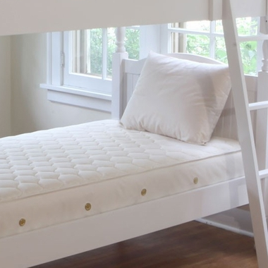 Natural Twin 2 in 1 Organic Quilted Ultra Trundle Short by Naturepedic