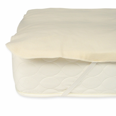 Natural Waterproof Organic Cotton Queen Protector Pad by Naturepedic