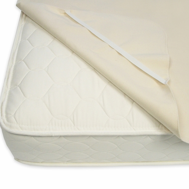 Natural Waterproof Organic Cotton Twin Protector Pad by Naturepedic