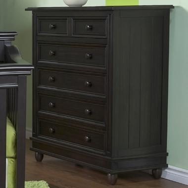 Onyx Marina 5 Drawer Dresser by Pali - Click to enlarge